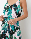 Lovely Surprise Jumpsuit - Pink/Green - Piin | ShopPiin.com