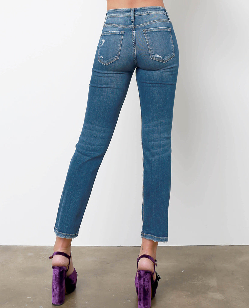 Blaire's Straight Jeans - Denim Blue - Piin | ShopPiin.com