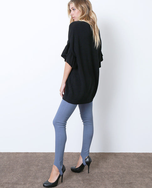 They Got It Right Stirrup Denim Jeggings - Blue Gray - Piin | ShopPiin.com