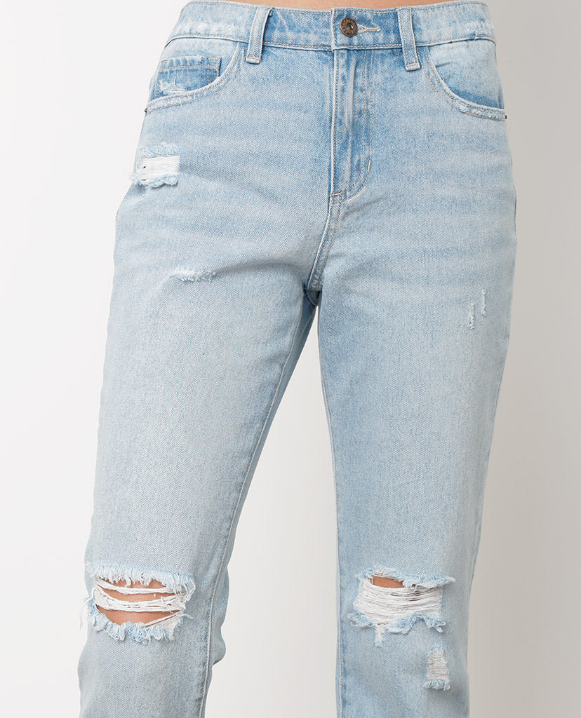 Carine Boyfriend Jeans - Light Blue - Piin | ShopPiin.com