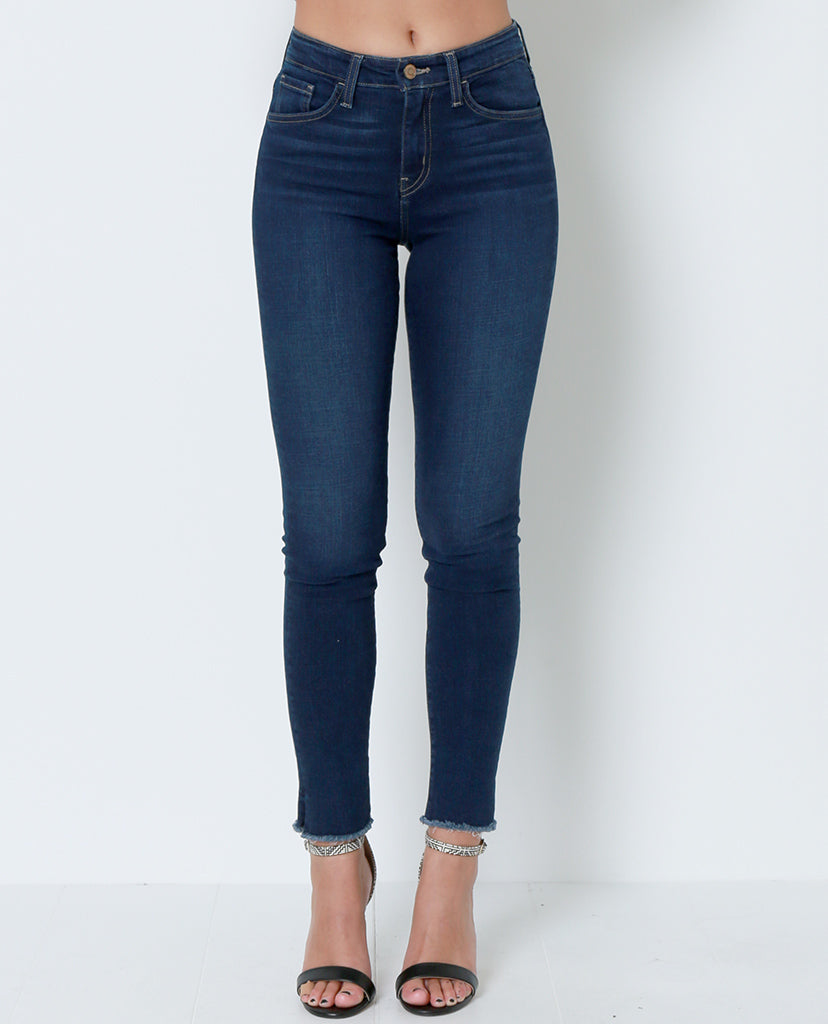 Time Is Everything Skinny Jeans - Blue - Piin | ShopPiin.com