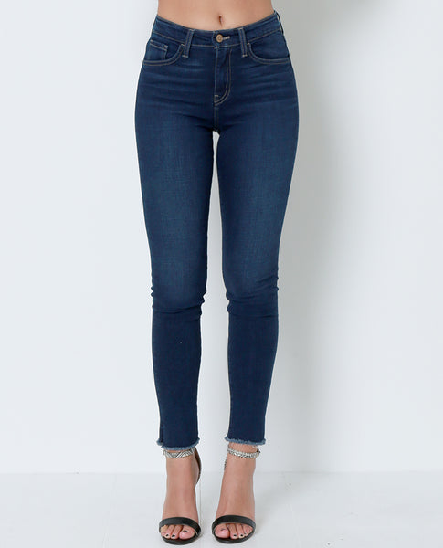 Time Is Everything Skinny Jeans - Blue