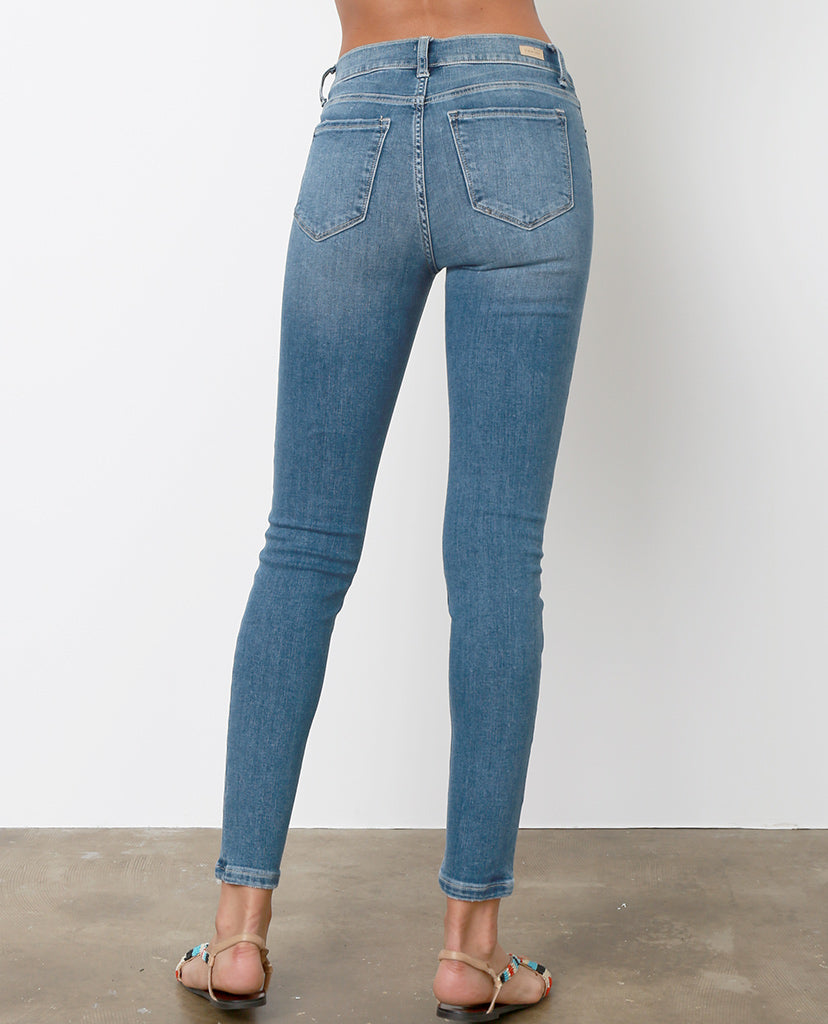 Strange Things Skinny Jeans - Blue Denim