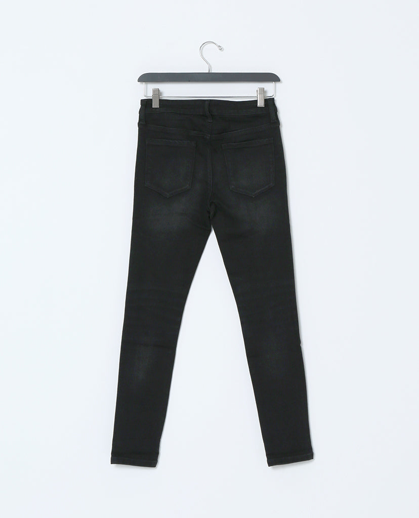 Spotless Mind Black Denim Distressed Skinny Jeans - Piin | ShopPiin.com