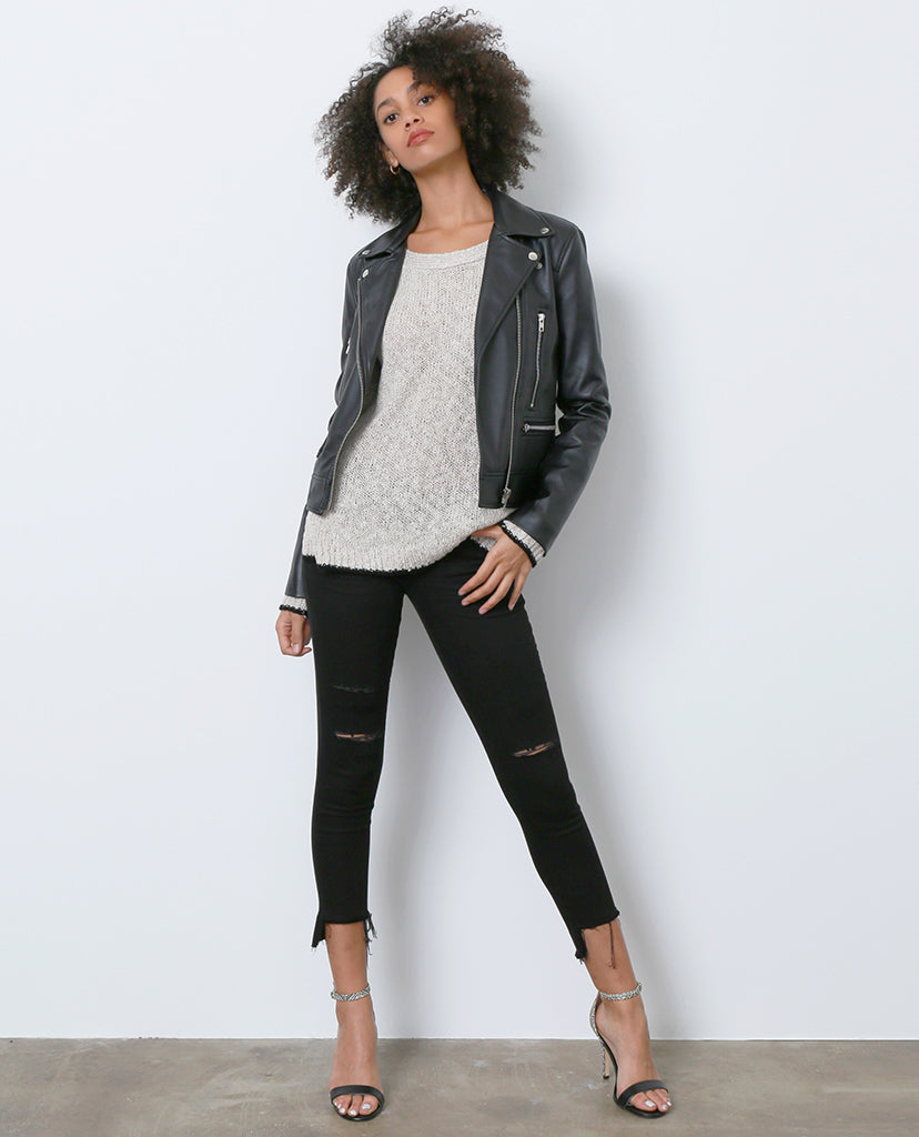 Almost Time Again Black Skinny Denim Jeans - Piin | ShopPiin.com