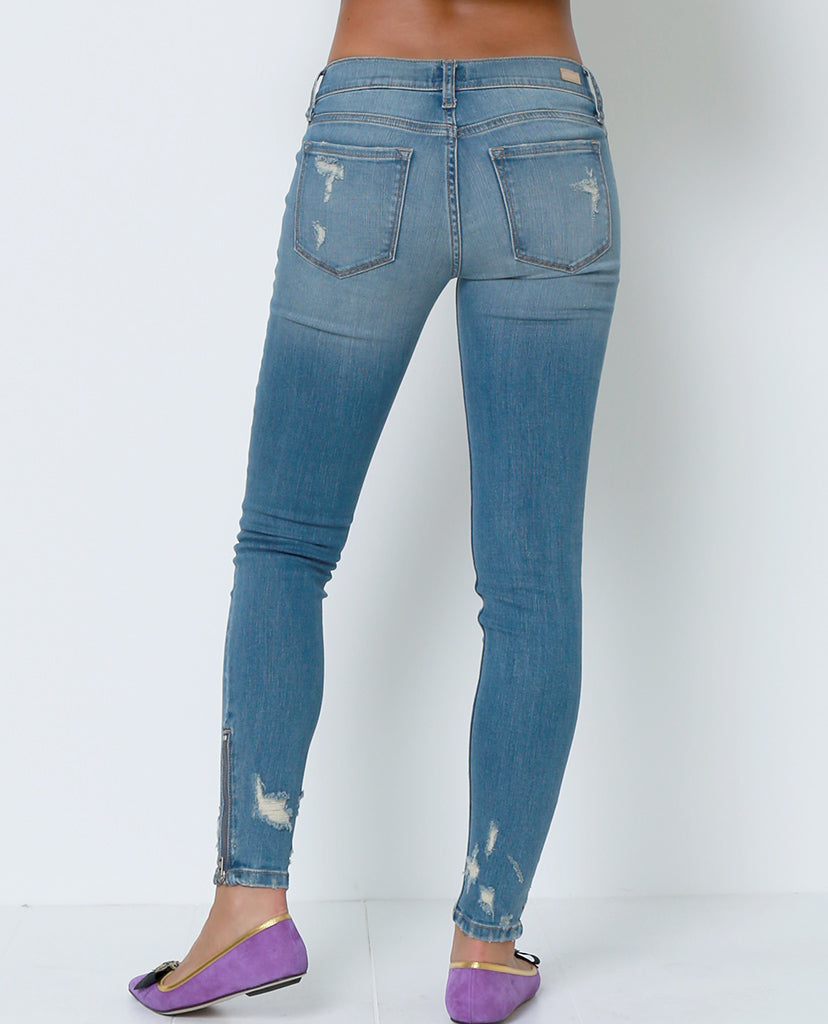 Can't Go Wrong Skinny Jeans - Blue - Piin | ShopPiin.com