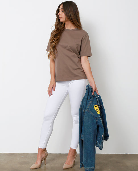 Bliss Skinny Jeans - White Denim