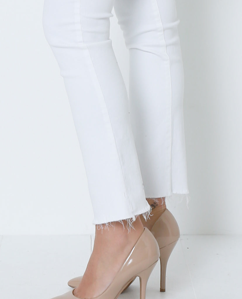 Keep You Looking Good White Denim Jeans - Piin | ShopPiin.com