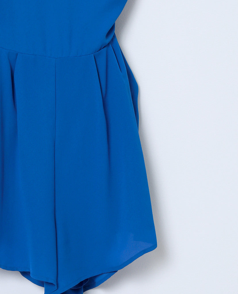 Ready To Embrace Romper - Royal Blue - Piin | ShopPiin.com