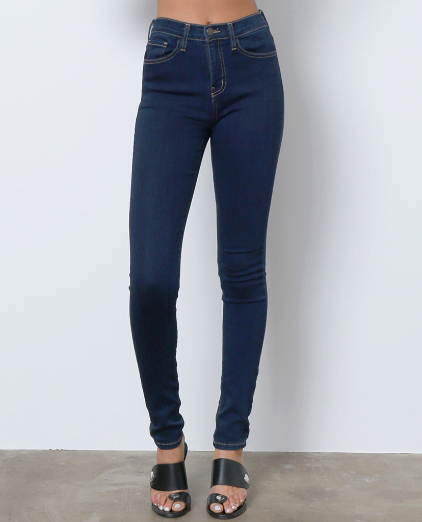 All Over Again Skinny Denim Jeans - Dark Blue - Piin | ShopPiin.com