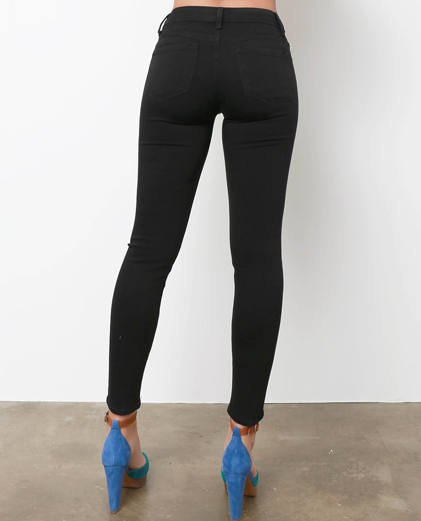 In My Step Black Skinny Jeans - Piin | ShopPiin.com