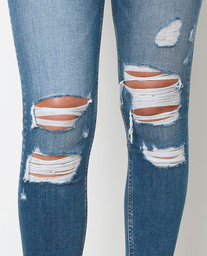 Another Day Another Skinny Jeans - Denim Blue - Piin | ShopPiin.com