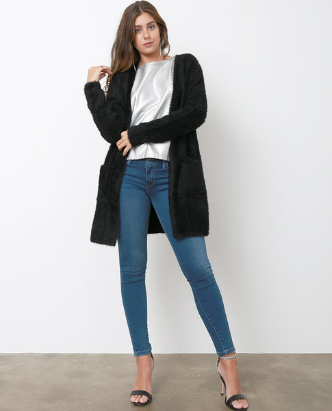 Never Too Late Skinny Jeans - Blue