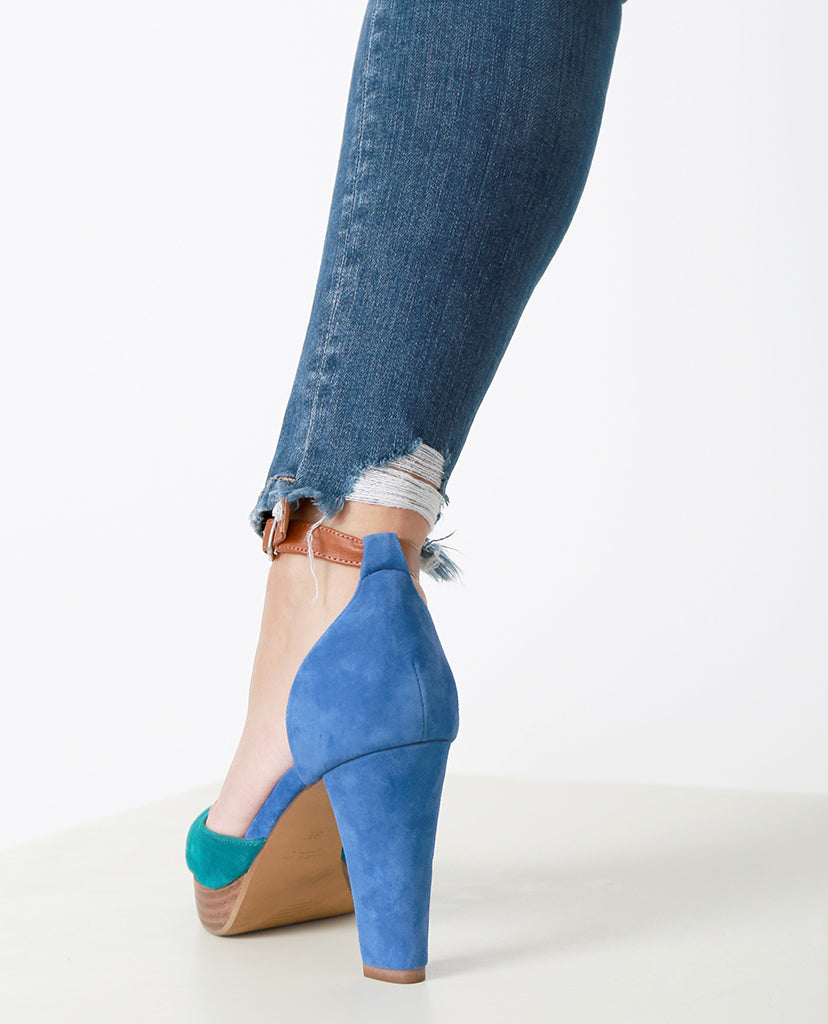 Make A Difference Skinny Jeans  - Blue - Piin | ShopPiin.com