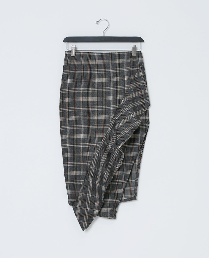 Pencil Me In Plaid Skirt