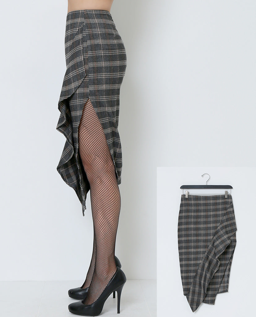 Pencil Me In Plaid Skirt - Piin | ShopPiin.com