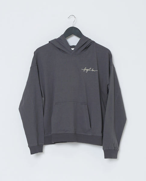 Forget Love Sweatshirt - Charcoal/Taupe