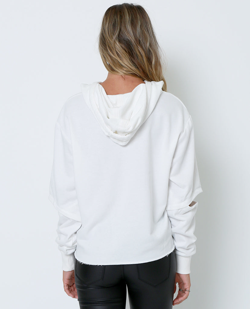 I'm Right Sweatshirt Top - Ivory - Piin | ShopPiin.com