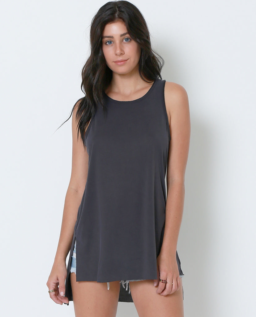 Join Me Tank Top - Charcoal Gray - Piin | ShopPiin.com