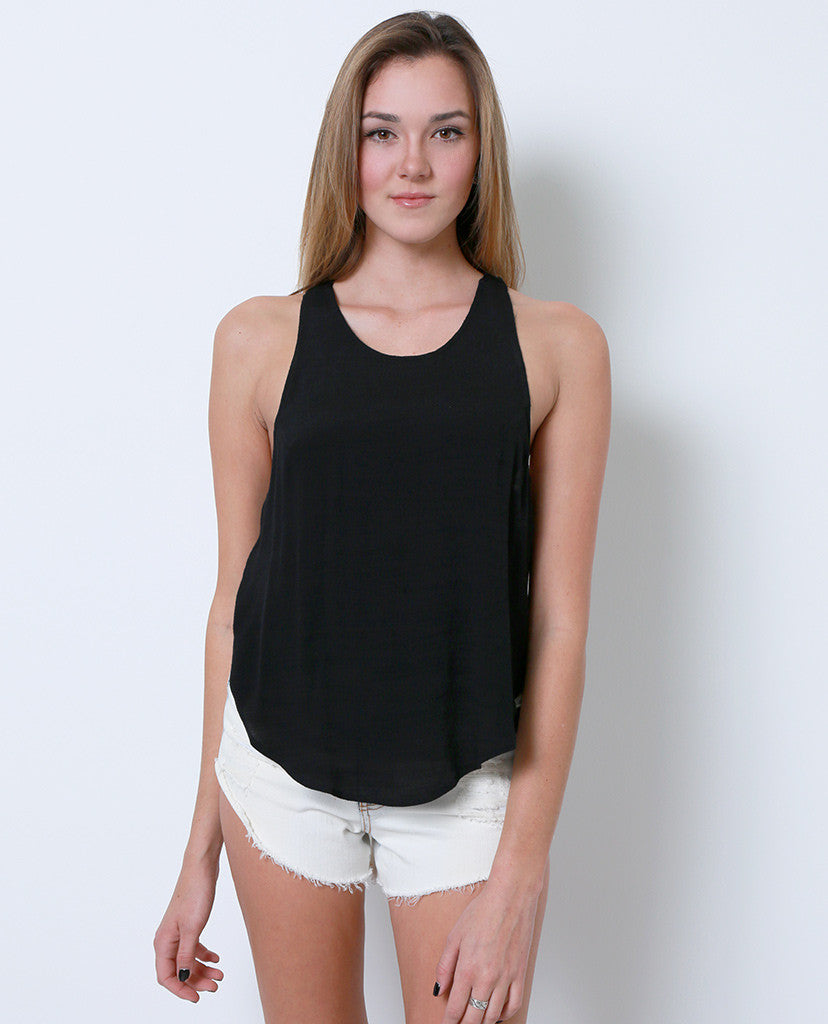 Something Fun Sleeveless Top - Black - Piin | ShopPiin.com