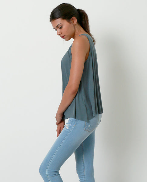 Daily Dose Sleeveless Top - Teal - Piin | www.ShopPiin.com