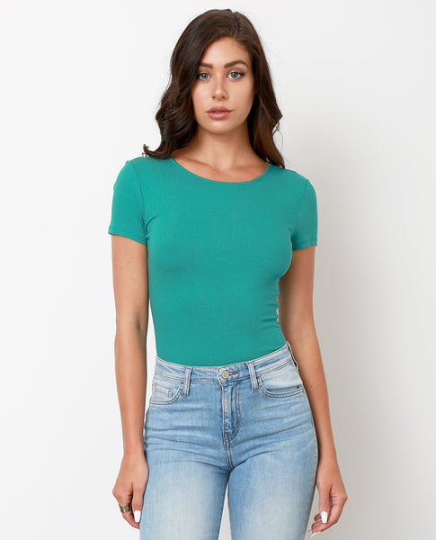 By You Bodysuit - Green - Piin | ShopPiin.com