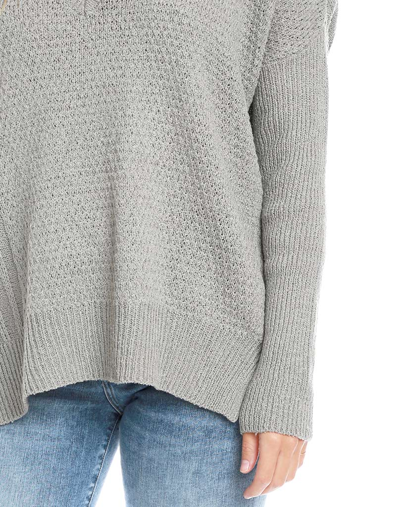 Always and Forever Sweater Top - Gray - Piin | www.ShopPiin.com