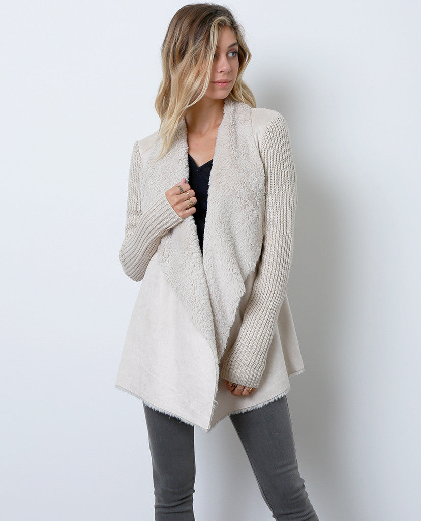 Nothing Like It Sweater Cardigan - Ivory - Piin | ShopPiin.com