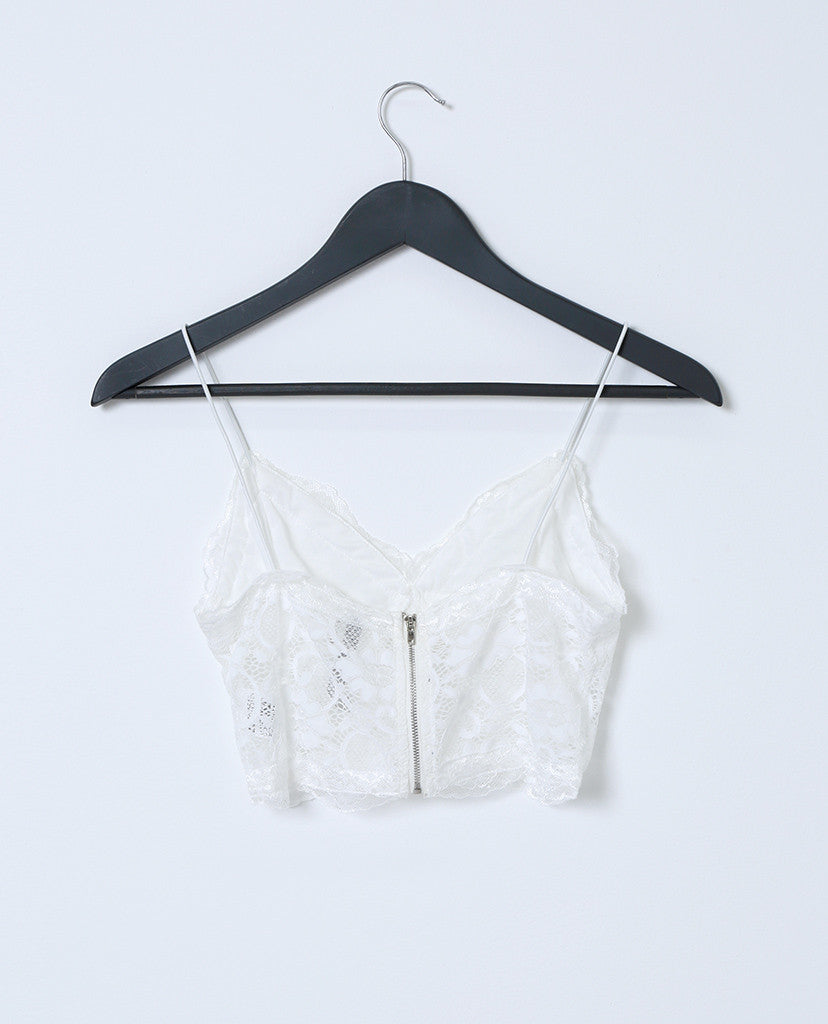 Don't Mind Bralette - White - Piin | ShopPiin.com