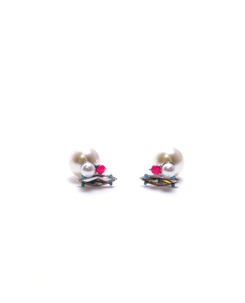 Two Sides Pearl Earrings - Piin | www.ShopPiin.com