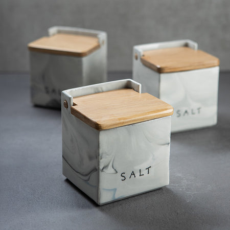 Ceramic salt keepers