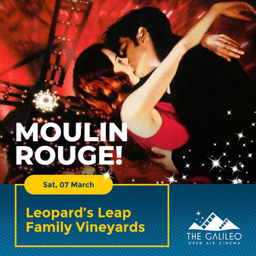 Moulin Rouge Open Air Cinema at Leopard's Leap Family Vineyards