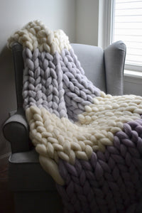 Custom Knit Blanket