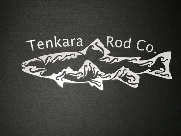 Fish & Tetons Sticker