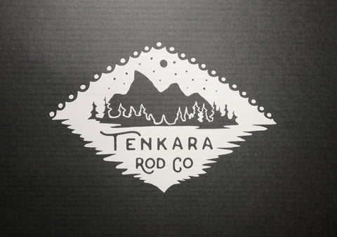 Tenkara & Tetons Sticker