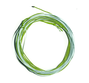 CrossBreed Tenkara Line - Light Blue & Chartreuse