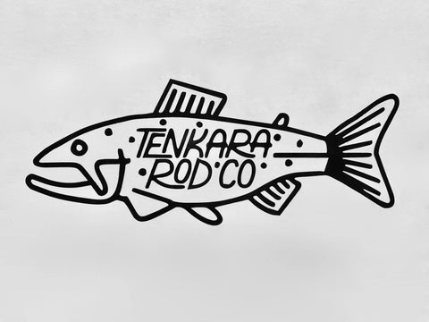 Tenkara Rod Co Fish Stickers