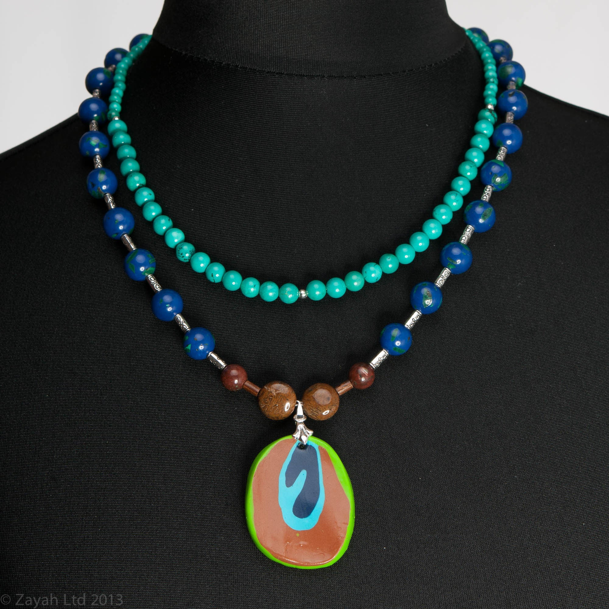 product peacock tail eon necklace feather boutique a shake