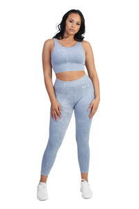 Stretch Ice Blue Leggings