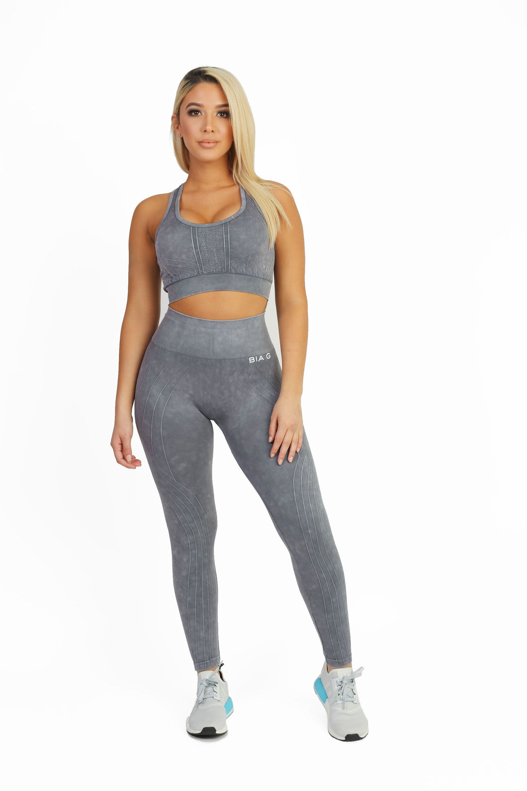 Stretch Pewter Leggings