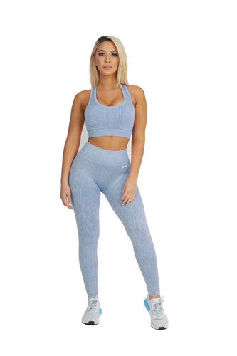 Stretch Dust Blue Bra