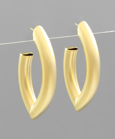Marquise Tube Hoops