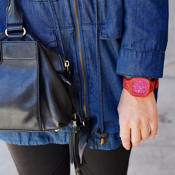 Choose Joy Mini Print Watch