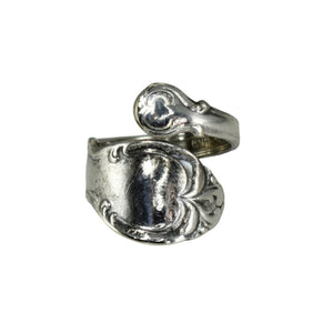 Silver Plate Spoon Ring Holmes & Edwards Silver Fashion International Silver c1957 - Premier Estate Gallery