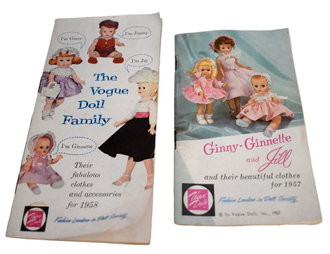 1950s Vogue Doll Family Catalogs X2 Ginny Ginnette Jill Jan Jimmy - Premier Estate Gallery