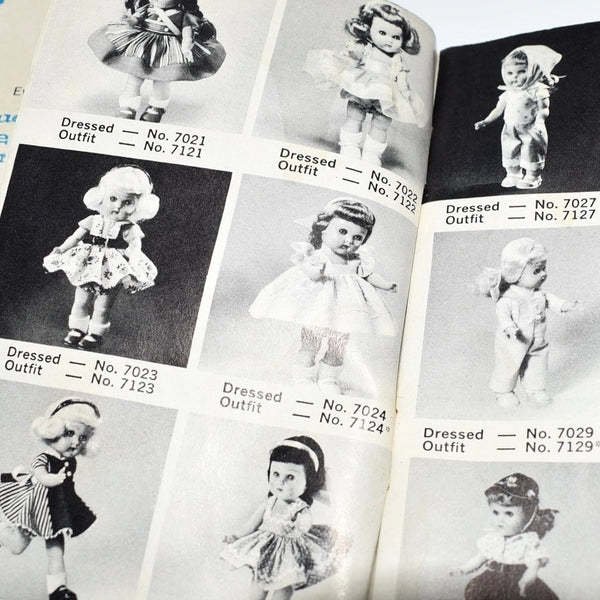 1950s Vogue Doll Family Catalogs X2 Ginny Ginnette Jill Jan Jimmy