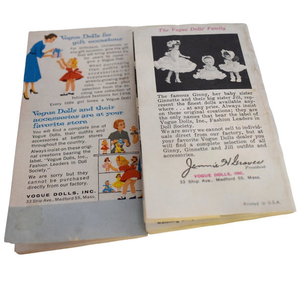 1950s Vogue Doll Family Catalogs X2 Ginny Ginnette Jill Jan Jimmy - Premier Estate Gallery 1
