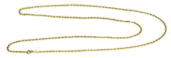 14k Gold Rope Chain 27 inch - Premier Estate Gallery 2