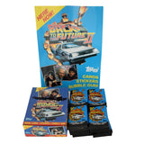 Back the Future II Topps Movie Trading Cards Full Store Box with Display 36 Packs Unopened 1989 - Premier Estate Gallery