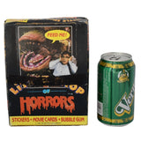 1986 Little Shop of Horrors Topps Movie Cards Display Box 36 Wax Sealed Packs Rick Moranis